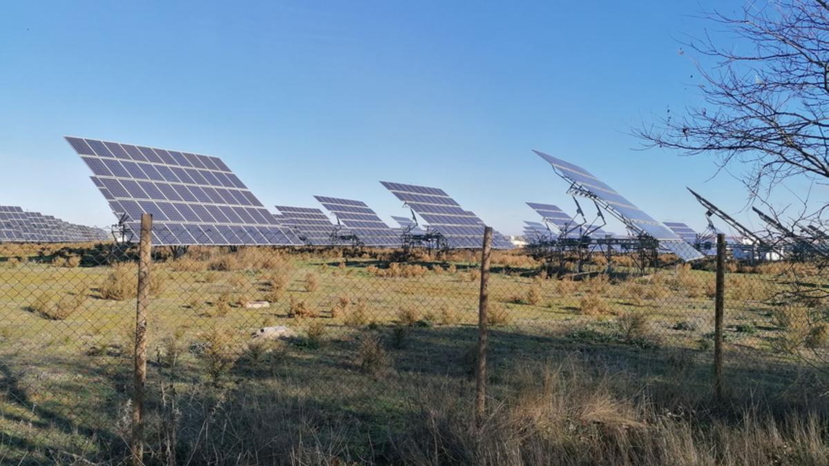 Planta fotovoltaica en la provincia de Zamora