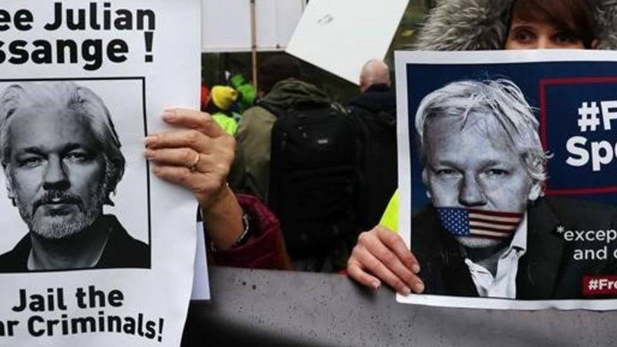 WikiLeaks pide a EEUU que retire los cargos contra Assange