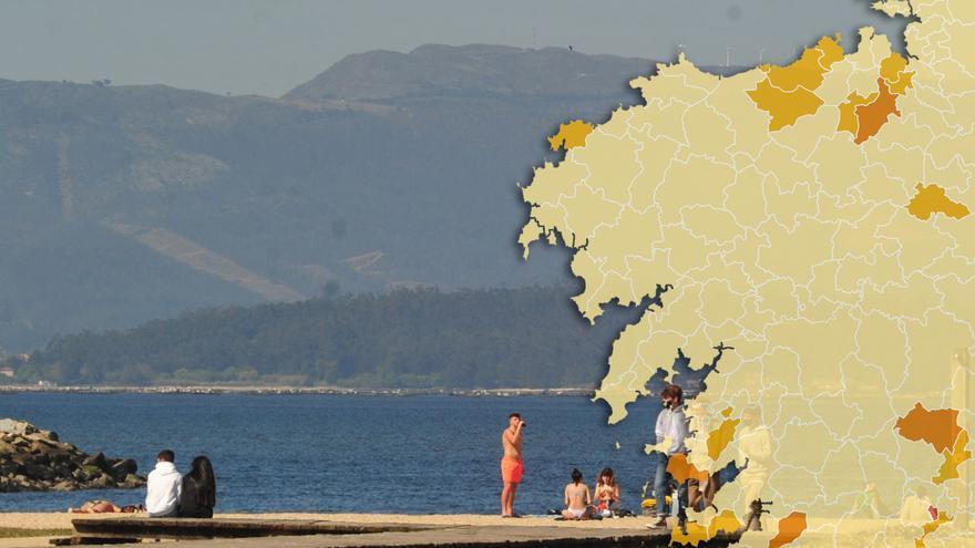 Solo un municipio de Galicia queda en nivel máximo de restricciones en Semana Santa