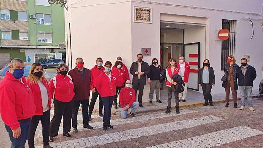 Cruz Roja estrena su nueva sede en Sueca para atender a los necesitados