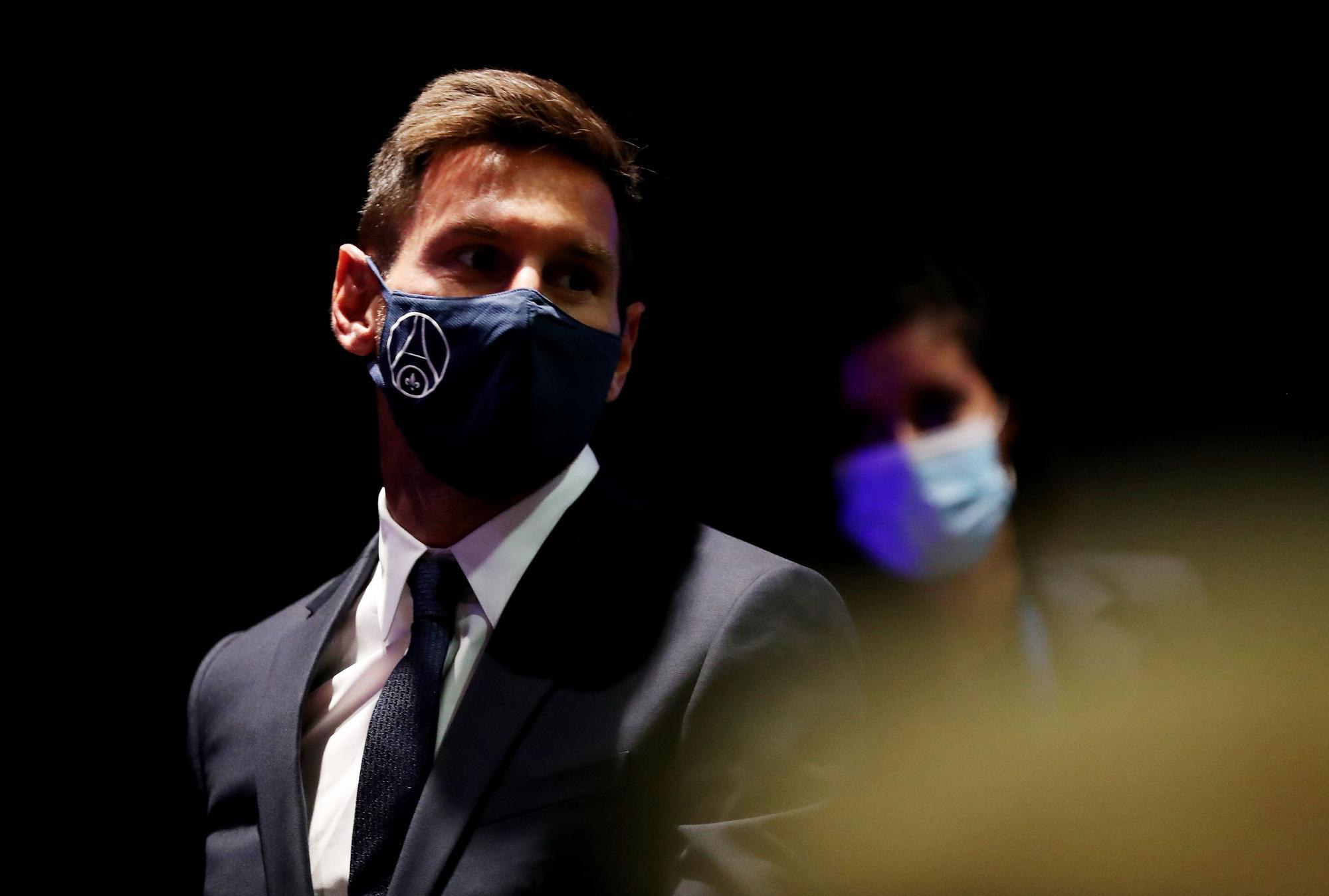 El primer dia de Leo Messi com a nou jugador del PSG