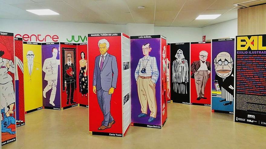 Personajes públicos ilustrados
