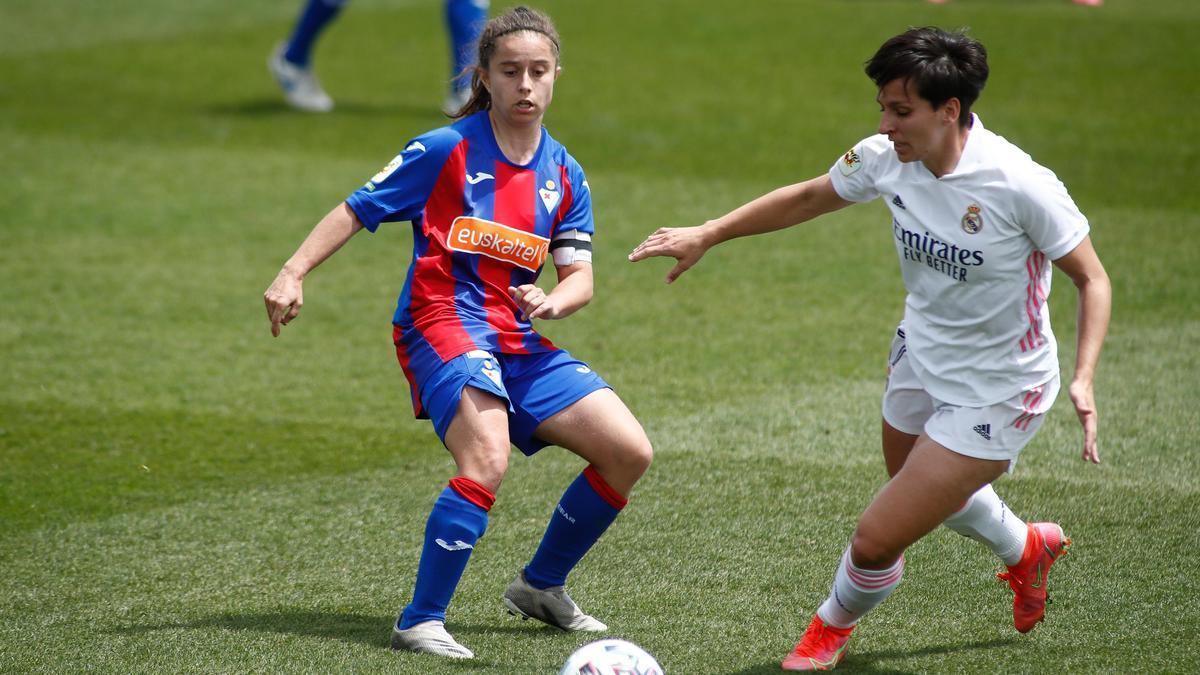 Real Madrid - Eibar de la Primera División femenina.