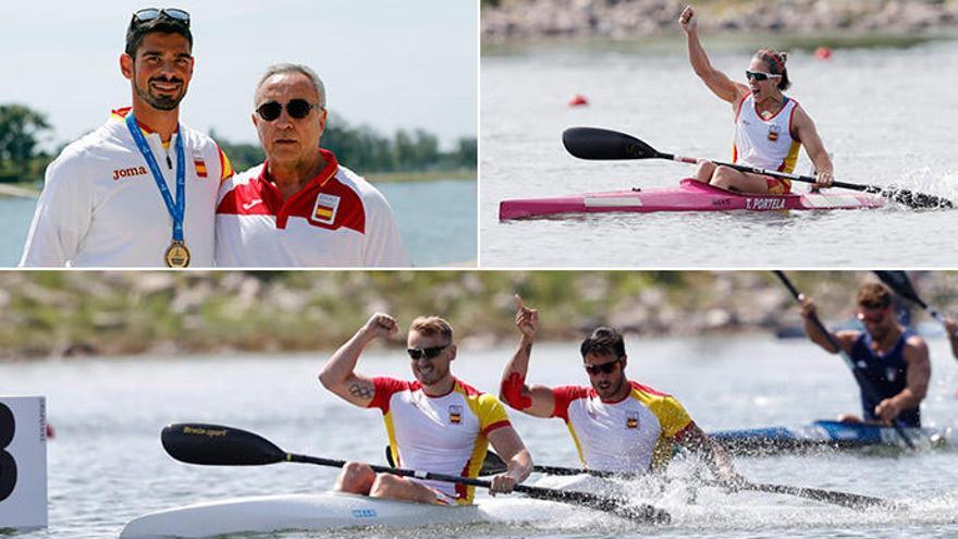 Gallegos de oro en los Juegos Mediterráneos