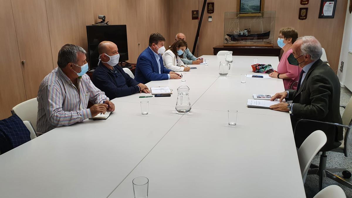 La reunión de la Federación con la Secretaría General de Pesca.