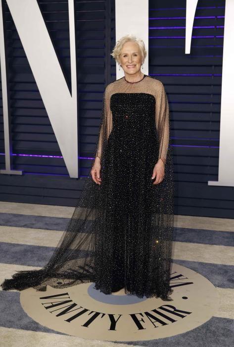 Glenn Close, en la fiesta post Oscars 2019