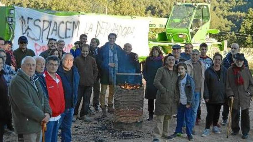 Veïns de Borredà no deixen construir la depuradora si l'ACA no la canvia d'ubicació