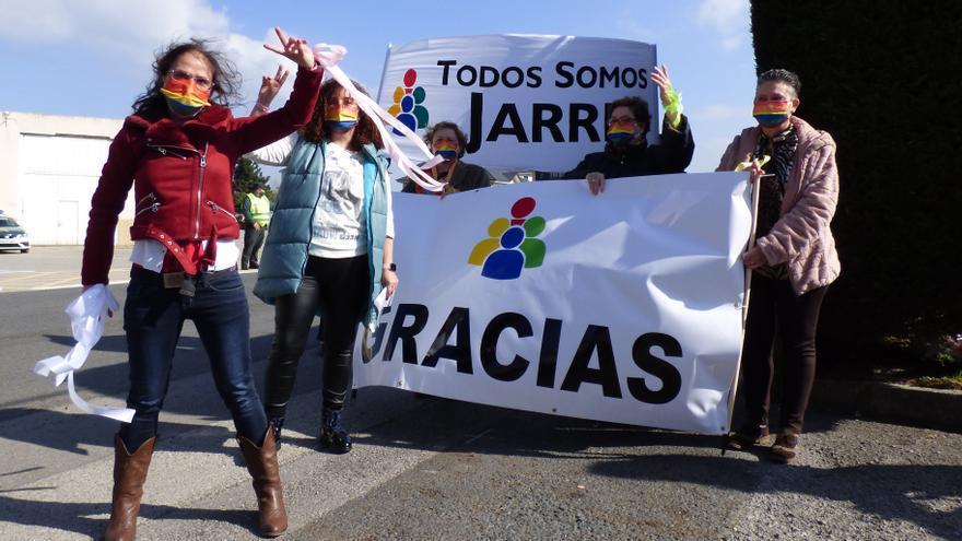 """Movilización masiva en defensa del hospital de Jarrio: """"Que el Principado vea que tiene que ponerse las pilas ya"""""""