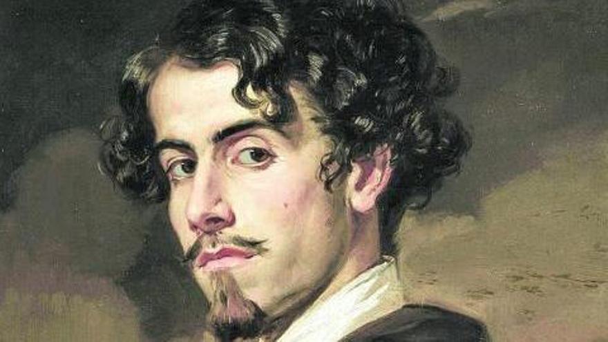 Retrato de Bécquer.
