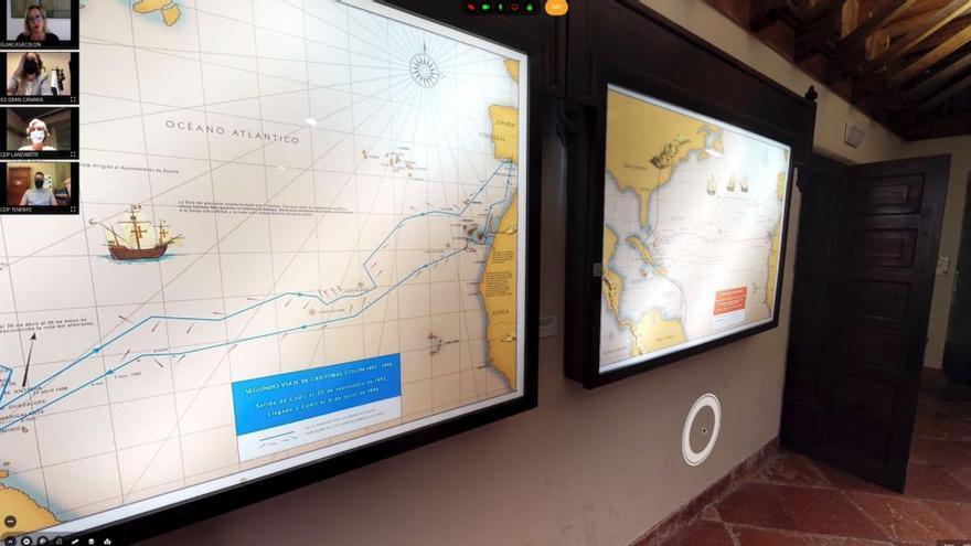 Visitas virtuales guiadas a los museos de Canarias