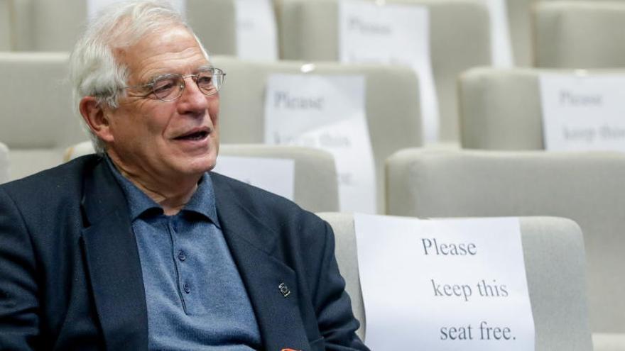 Borrell confía en la repatriación de los españoles