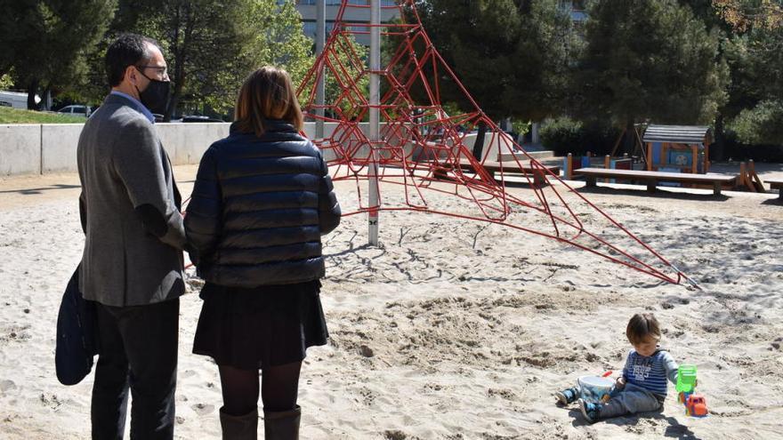 L'Ajuntament de Manresa ha invertit 670.500 euros en tres anys en parcs infantils