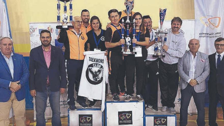 Tenerife copa los podios de la cita internacional de Telde