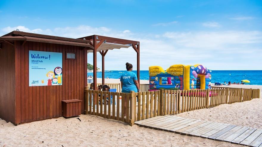 Lloret de Mar posa en marxa el programa de dinamització a les platges de Lloret i Fenals