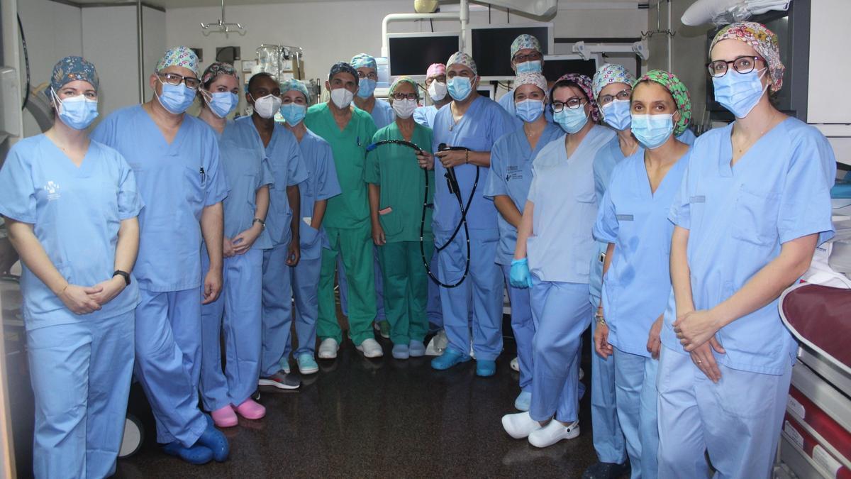 COMUNIDAD VALENCIANA.-Innova.- El Hospital de Alicante incorpora un endoscopio motorizado para tratar lesiones del intestino delgado