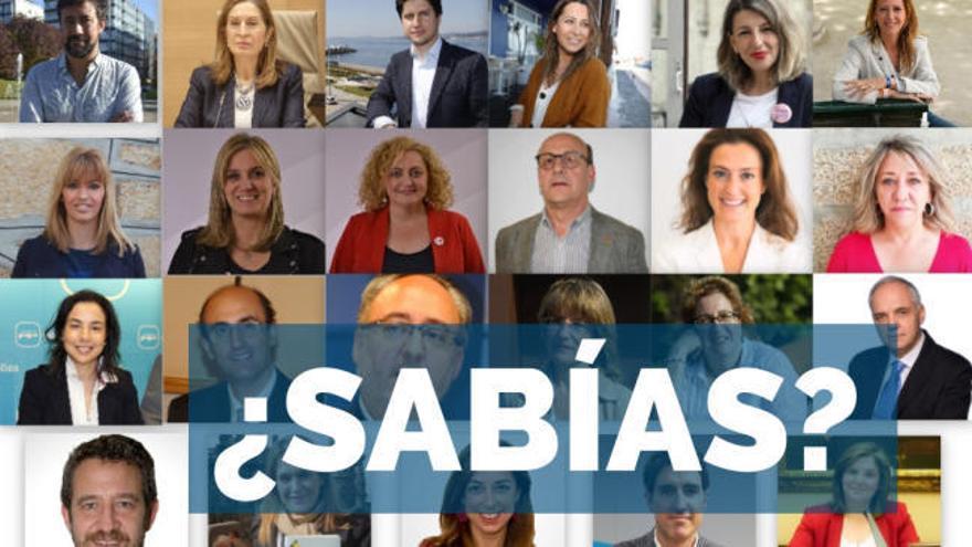 Elecciones Generales 2019| Estos son, uno a uno, los diputados por Galicia al Congreso
