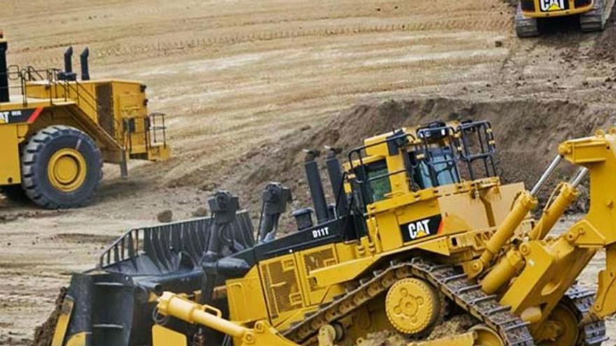 Maquinària pesada per a obres públiques i mineria