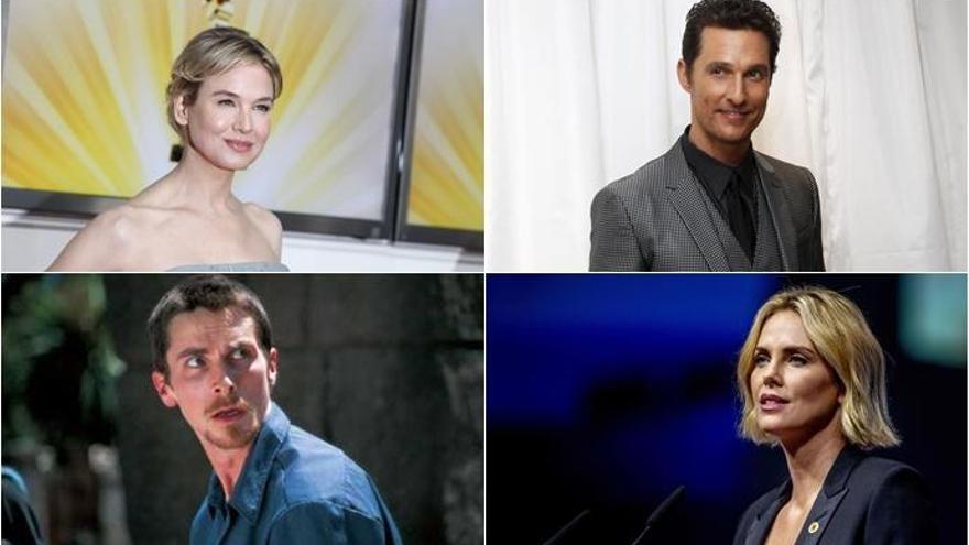 Los 10 cambios más espectaculares de los actores