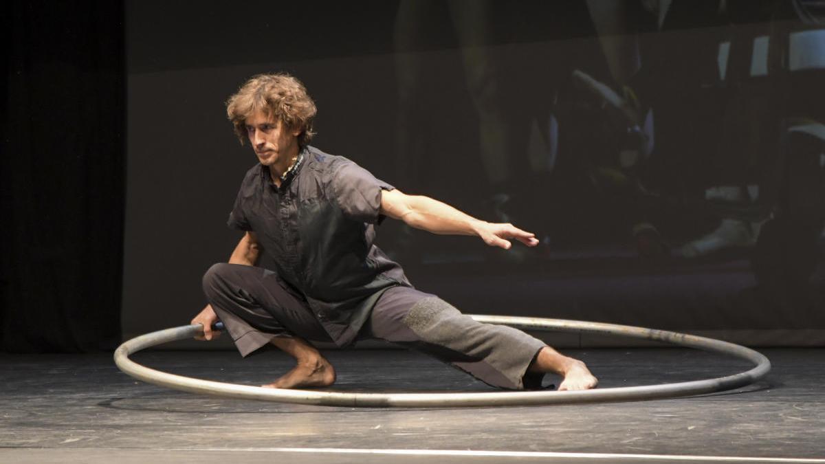 Espectáculo de danza en el Teatre Xesc Forteza