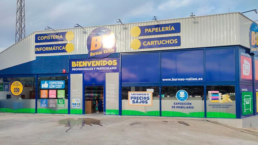 Bureau-Vallée inaugura en Finestrat su segunda tienda