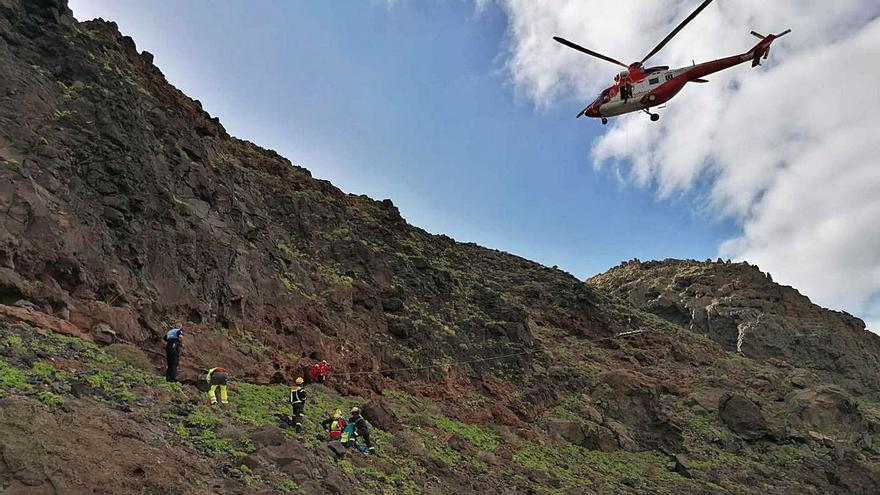 Accidente en la costa Norte