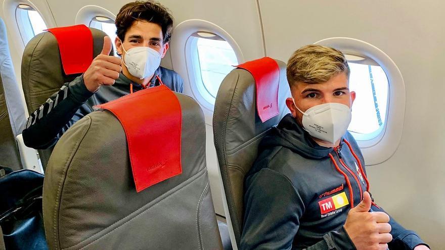 El Elche viaja hoy en avión a Pamplona y volverá tras el partido