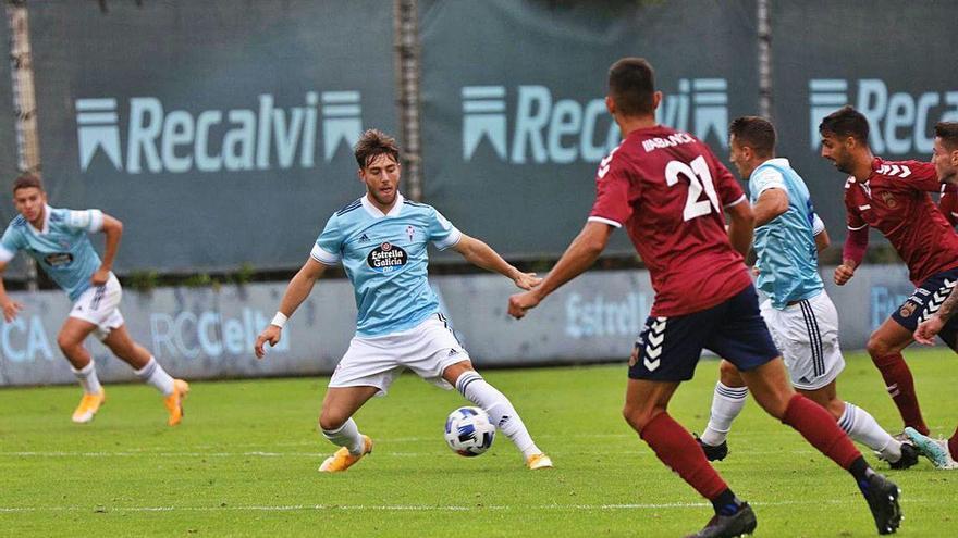 Derrota del filial en su amistoso contra el Pontevedra (2-3)