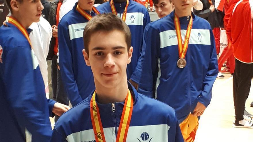 El vilamallenc Ferran Díaz és sotscampió cadet d'Espanya amb la selecció catalana