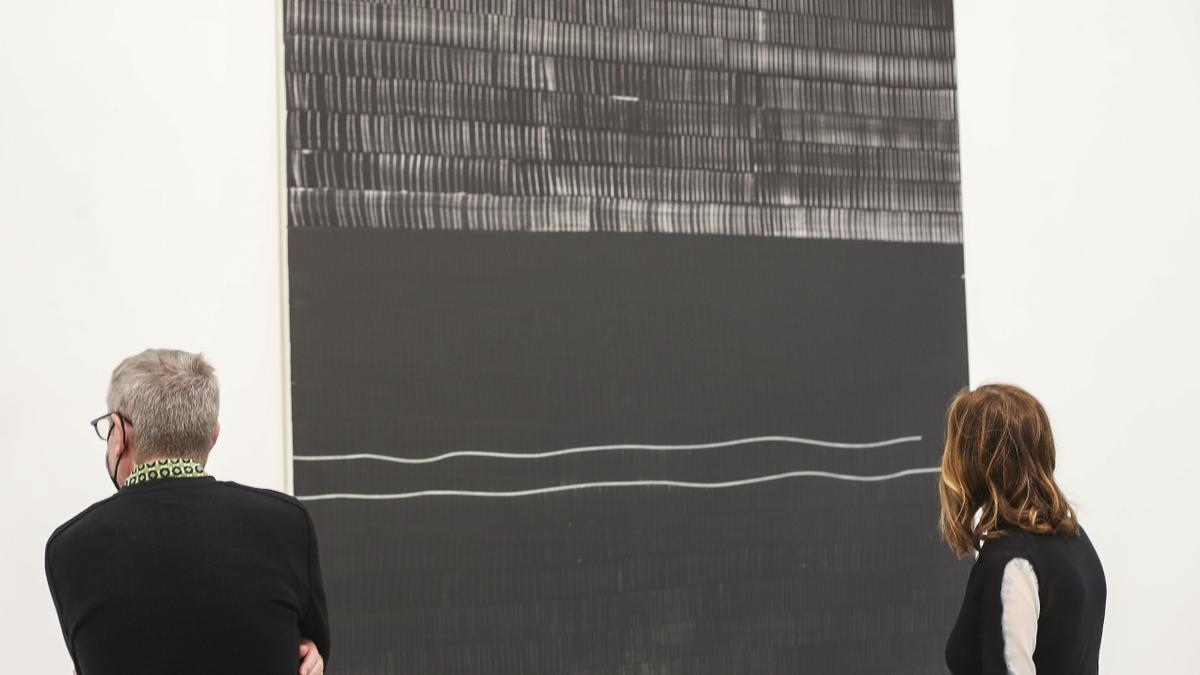 Así es la exposición de Juan Uslé en Bombas Gens