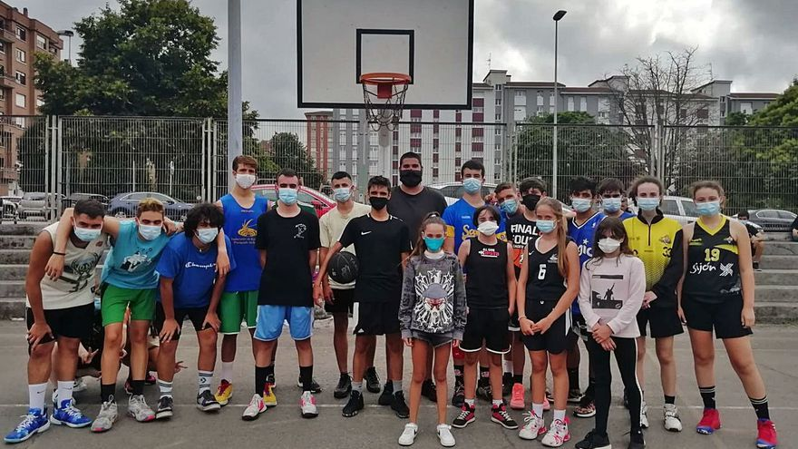 Torneo de baloncesto en Nuevo Gijón por las fiestas vecinales