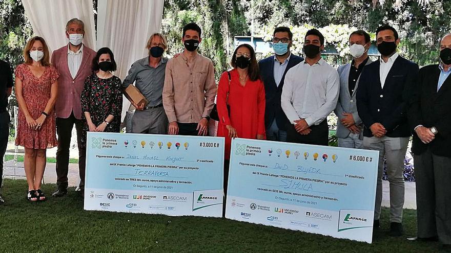 Symula gana los premios de emprendimiento de Lafarge