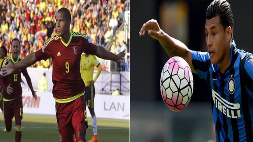 Los examarillos Rondón y Murillo, en la Copa América