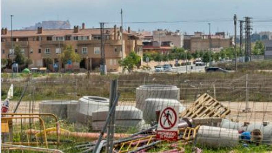La reurbanización de Rabasa allana el camino para la construcción del cuartel de la Guardia Civil