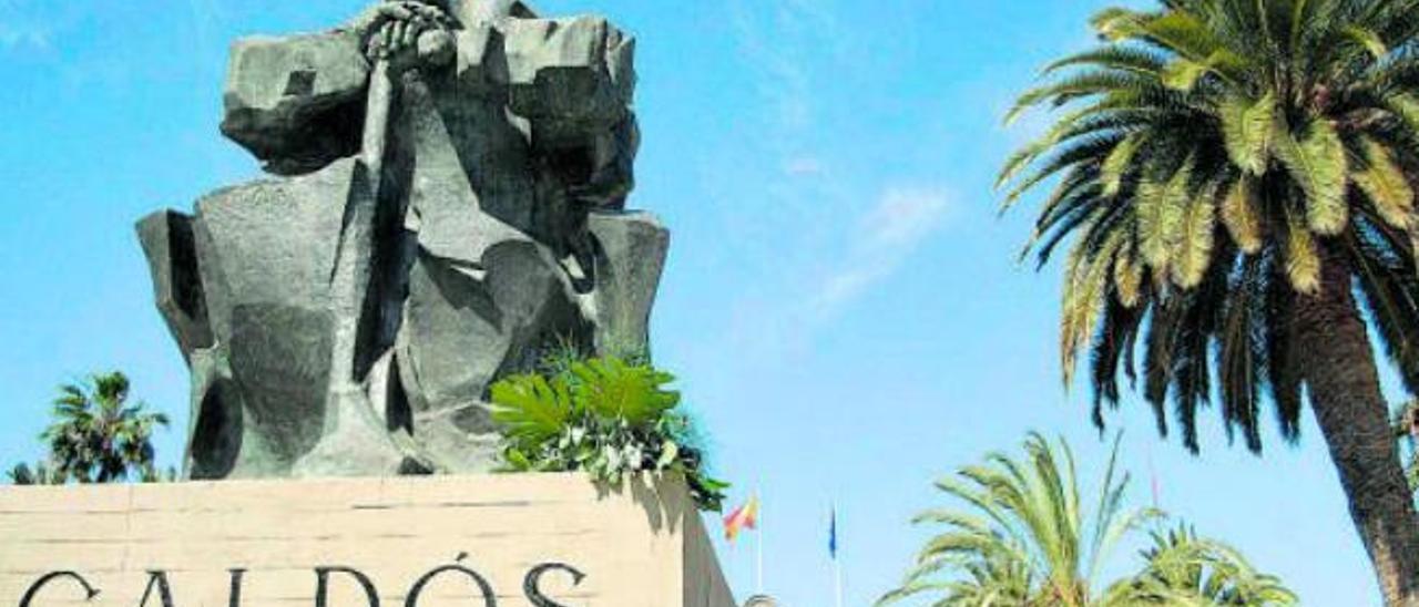 La estatua de Galdós, de la polémica al consenso