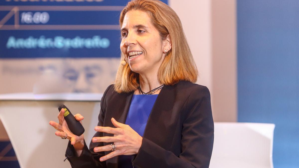 La ingeniera en telecomunicaciones y doctora por el Media Lab del InstitutoTecnológico de Massachusetts (MIT), Nuria Oliver.
