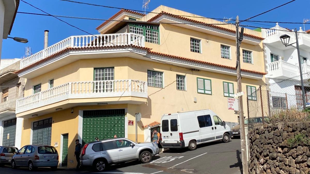 La zona de la calle Las Turcas donde se produjo el crimen