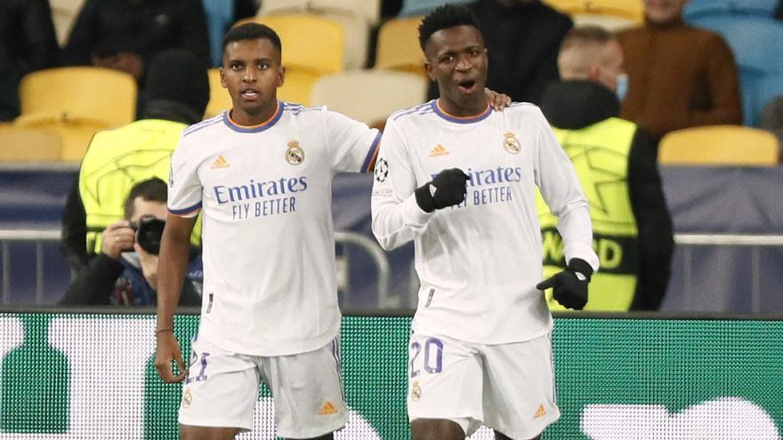 Vinicius relanza al Madrid en la Champions con una exhibición