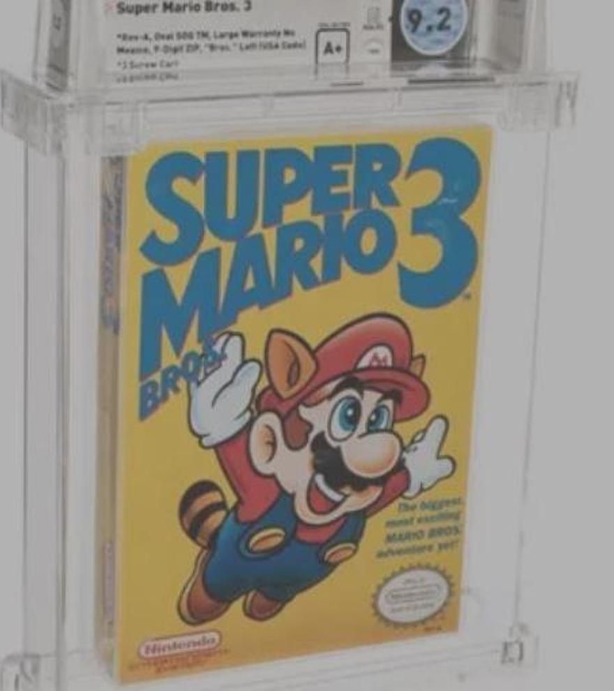 Una primera versión de Super Mario Bros. 3, el videojuego más caro del mundo