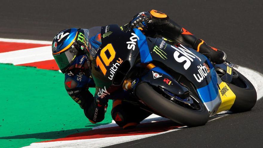 Luca Marini logra su primera 'pole' en Moto2