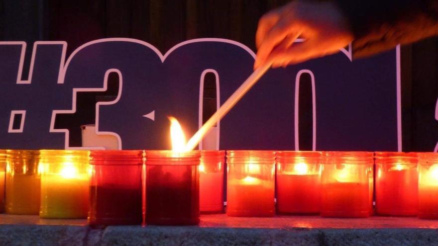 L'encesa solidària de La Salle Figueres celebra la 22a edició
