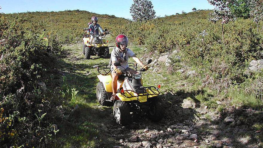 Motos y quads, intrusos en el monte