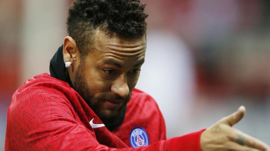 Neymar entra en la lista de morosos de Hacienda