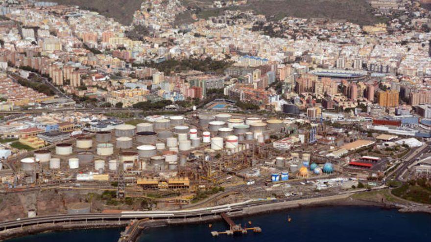 Cepsa desmantelará en 2022 los terrenos de la refinería en Santa Cruz de Tenerife