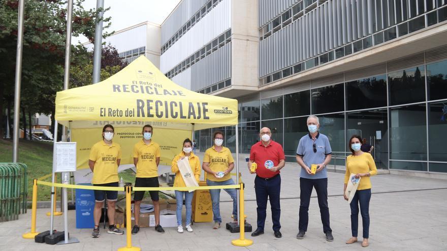 San Vicente se une a la campaña de Ecoembes que premiará al municipio que más recicle