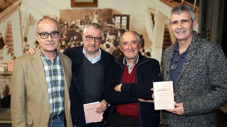 """Alfonso Armada presenta en el Museo del Mar de Vigo su poemario """"Cuaderno de Hollywood"""""""