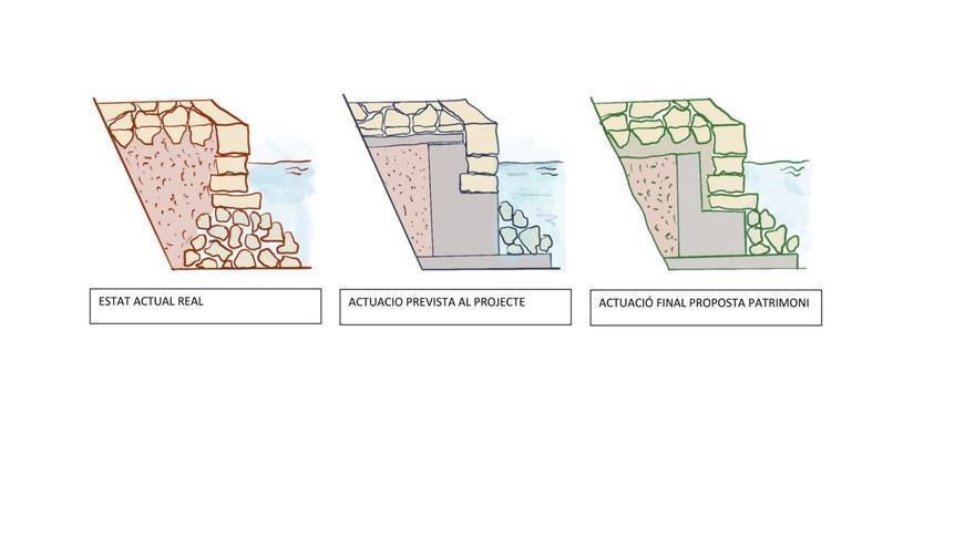 Presentan la propuesta de protocolo para reformar el muelle de Portocolom