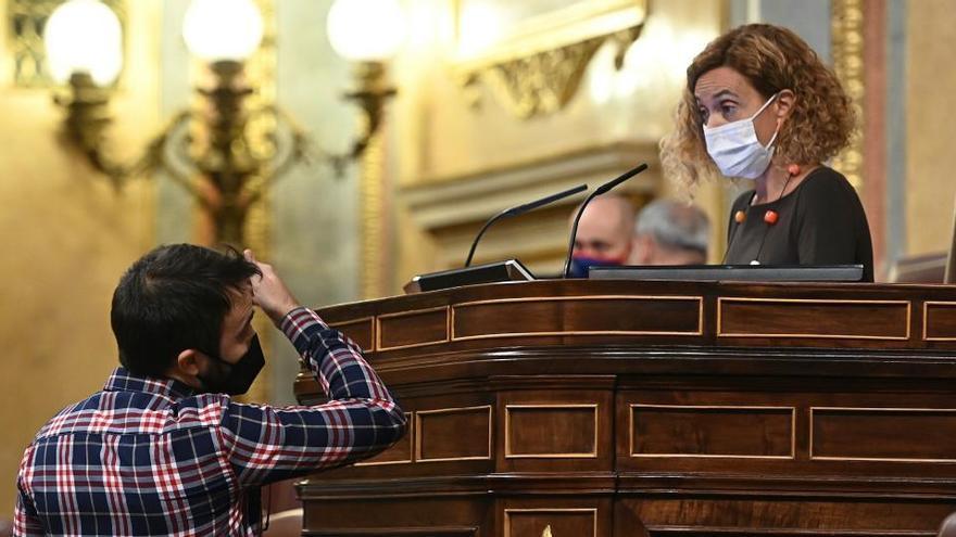 Batet quita la palabra a la CUP y el BNG en el Congreso