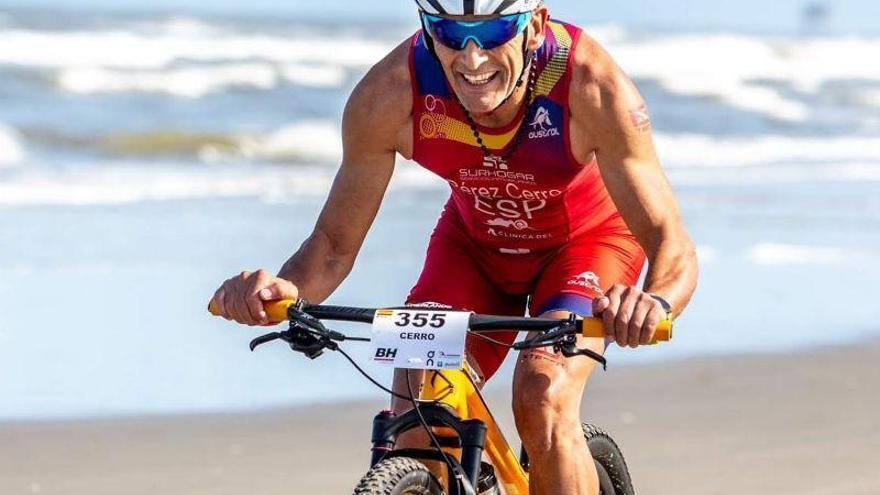Miguel Pérez gana la corona europea Xterra +55