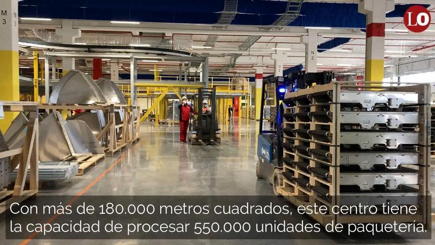 Así es el nuevo centro de Amazon en la Región que abrirá sus puertas en otoño