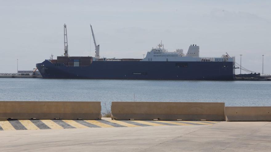 La escala de otro barco saudí  en Sagunt aviva el malestar  por si lleva armas a Yemen
